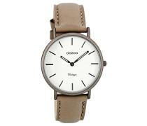 Damen Digital Quarz Uhr mit Leder Armband C7749