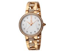 Analog Quarz Uhr mit Edelstahl Armband JC1L031M0095