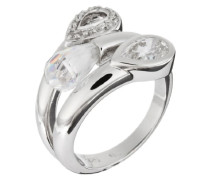 Damen-Ring 925 SterlingSilber mit Zirkonia