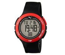 Armbanduhr PU-Touch-black red Digital Quarz Kautschuk PU911211001