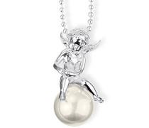 Anhänger Pearl of Angels Engel auf Perle 925 Silber weiß