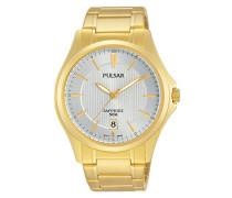 Armbanduhr Analog Quarz Edelstahl beschichtet PS9384X1