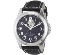 Armbanduhr XL Ghandi Analog Automatik Leder 8112U-a1