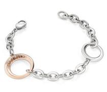 Damen Armband Edelstahl Notti pink SAAH07
