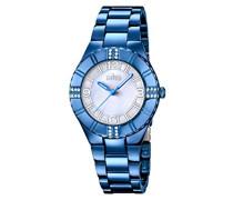 Damen-Armbanduhr Analog Quarz Edelstahl 18247/1