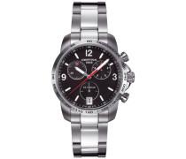 Armbanduhr XL Chronograph Quarz Edelstahl C001.417.11.057.00