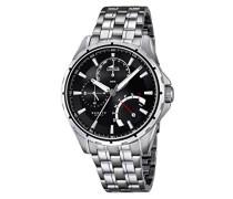 Herren-Armbanduhr Analog Quarz Edelstahl 18203/2