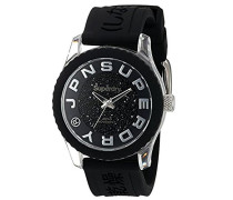 Analog Quarz Uhr mit Silikon Armband SYL174B