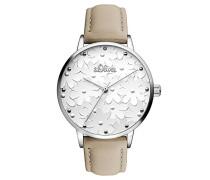 Analog Quarz Uhr mit Leder Armband SO-3466-LQ