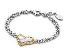 Damen Armband Edelstahl 22.7 cm LS1670-2/2