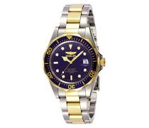 Analog Quartz Uhr mit Edelstahl beschichtet Armband 8935