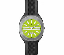 Unisex-Armbanduhr Analog Quarz Silikon 373N