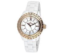 Armbanduhr Analog Quarz Premium Keramik Diamanten - STM15E3