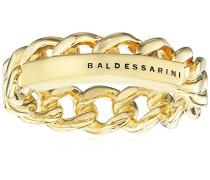 Ring 925 Silber gelb vergoldet 58 (18.5) - Y2139R/90/00/58