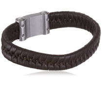 PL 645-05-21 Herren-Armband Leder, 18 cm, braun