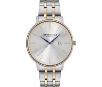 Analog Quarz Uhr mit Edelstahl Armband KC15095003