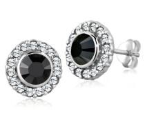 Ohrstecker Elegant silber 925 Swarovski Kristall schwarz Glamour Elegant 0309742612
