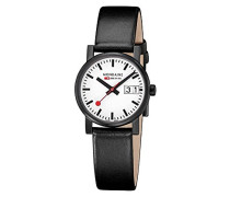Armbanduhr SBB Evo Big Date black&white 30mm Analog Quarz A669.30305.61SBB