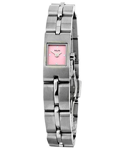 Armbanduhr Analog Quarz Edelstahl M15452-128