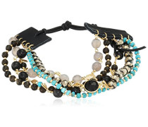Statement-Armbänder Messing - BGZ-5459 Black Horn Mix
