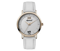 Damen Analog Quarz Uhr mit PU Armband ID00502