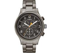Chronograph Quarz Uhr mit Edelstahl Armband TW2R47700