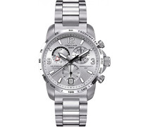 Armbanduhr XL Chronograph Quarz Edelstahl C001.639.11.037.00