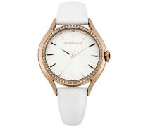 Damen-Armbanduhr Analog Quarz Leder M1235WRG