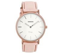 Damen Digital Quarz Uhr mit Leder Armband C7737