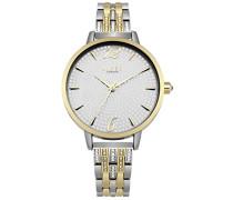Datum klassisch Quarz Uhr mit Aluminium Armband LP533