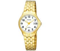 Uhren Armbanduhr XS Klassik Analog Quarz Edelstahl beschichtet PH7224X1