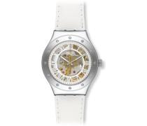 Erwachsene Digital Automatik Uhr mit Edelstahl Armband YAS109