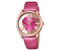 Damen-Armbanduhr Analog Quarz Leder 18306/2