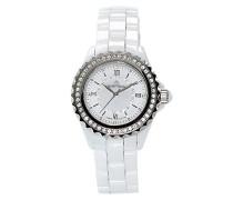 Armbanduhr Analog Quarz Premium Keramik Diamanten - STM15E2