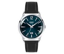 Analog Quarz Uhr mit Leder Armband HL41-JS-0035