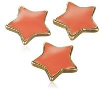 Jewelry Anhänger Druckknopf 3'er Set aus der Serie Snap vergoldet flamingo 1.0 cm 431310009