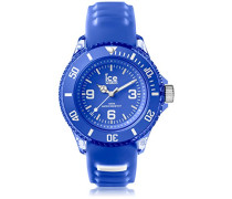 ICE aqua Amparo - Blaue Herrenuhr mit Silikonarmband - 001456 (Small)