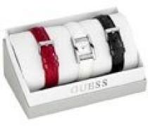 Damen-Armbanduhr Analog Quarz Leder W0295L1