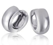 Unisex-Creolen 925 Sterlingsilber Ohrring