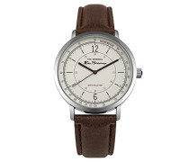 Datum klassisch Quarz Uhr mit PU Armband BS006WBR