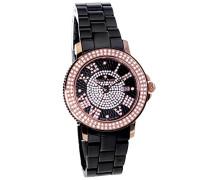 Armbanduhr Analog Quarz Premium Keramik Diamanten - STM15P4
