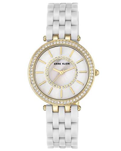 Analog Klassisch Quarz Uhr mit Plastik Armband AK/N2620WTGB