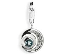 Damen- Charm Mond 925 Sterlingsilber HB 232