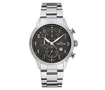 Armbanduhr Chronograph Quarz Silber 1192.9137