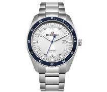 Analog Quarz Uhr mit Edelstahl Armband WBS107SM