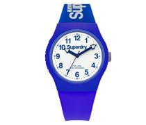 Analog Quarz Uhr mit Silikon Armband SYG164U