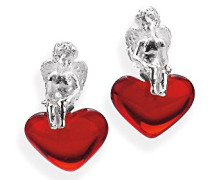 Ohrstecker Heart of angels 925/-Sterling Silber LD HA 21