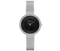 Analog Quarz Uhr mit Edelstahl Armband KC50198002