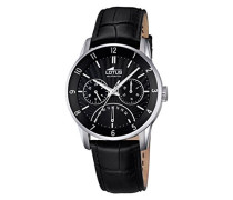 Herren-Armbanduhr Analog Quarz Leder 18216/4