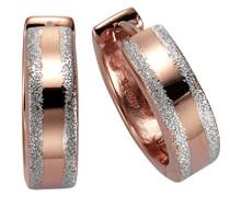 Celesta Silber Creolen 925 Sterling Silber vergoldet mattiert 271210229V1
